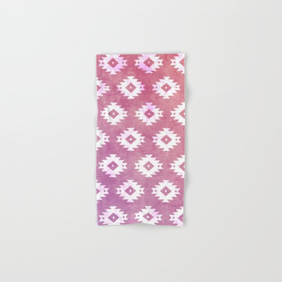 Aztec Pattern 10 Hand & Bath Towel