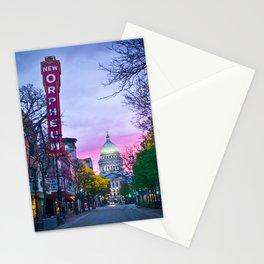 Madison Capital Sunrise with the New Orpheum Stationery Cards