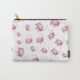 Pink Mouses Carry-All Pouch