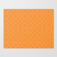 pumpkin Canvas Prints featuring Pumpkin by TRUA