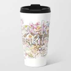Fuck Patriarchy Metal Travel Mug