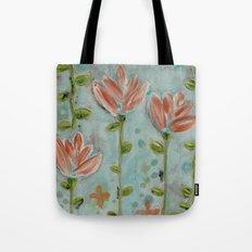 Flowering vines Tote Bag