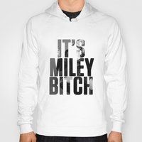 miley cyrus Hoodies featuring Miley Cyrus by BreakoutStore