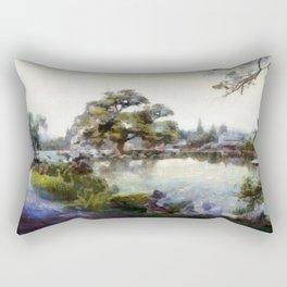 Asia Winter Rectangular Pillow