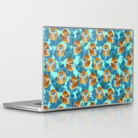 arctic monkeys Laptop & iPad Skins featuring Monkeys by Vera & the Birds