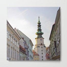 Bratislava Tower Metal Print