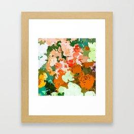 Velvet Floral Framed Art Print