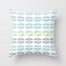 ORGANIC & NATURE (BLUES) Throw Pillow