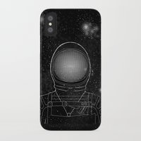astronaut iPhone & iPod Cases featuring Astronaut  by Becky Hayes