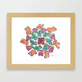 Kaleidoscope  Framed Art Print