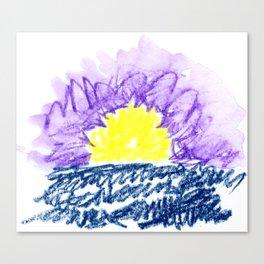 here comes the sun III Canvas Print