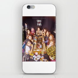 twice yes or yes iPhone Skin