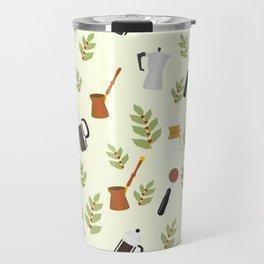 brewing pattern Travel Mug