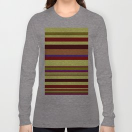 Red lines Long Sleeve T-shirt