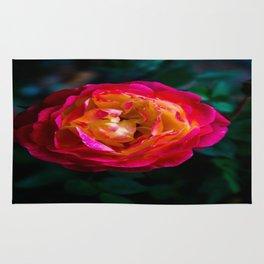 Rainbow Rose Rug