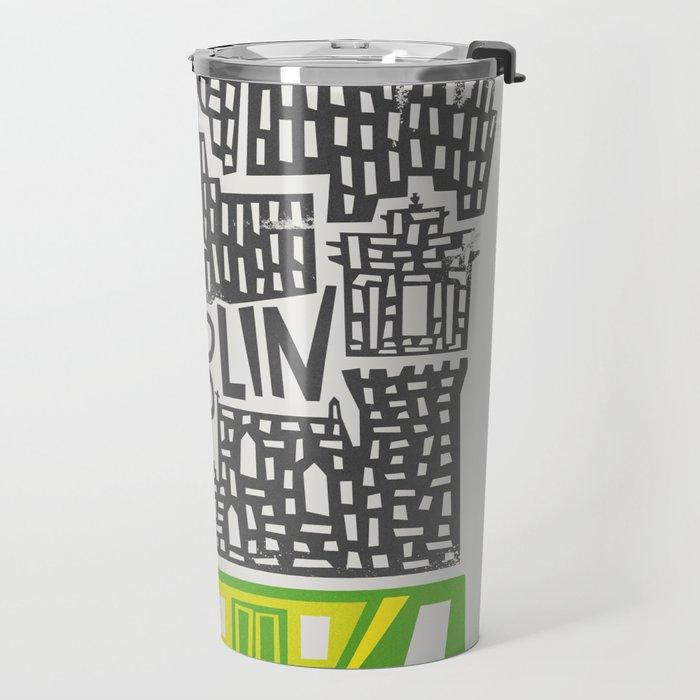 Dublin Cityscape Travel Mug