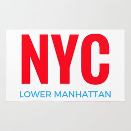 NYC Lower Manhattan Rug