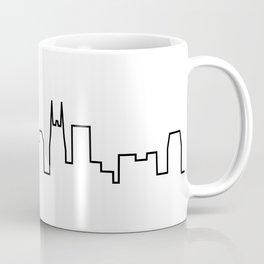 Nashville, TN City Skyline Coffee Mug