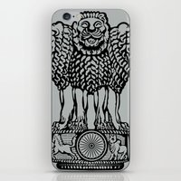 india iPhone & iPod Skins featuring India by CIRCA88