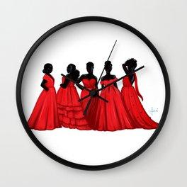 Pick Your Princess Wall Clock
