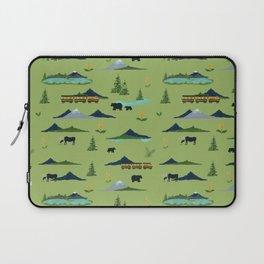 Alaska - Green Laptop Sleeve