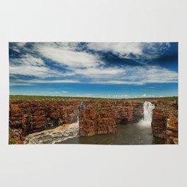 King George Waterfall Rug