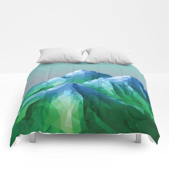 Night Mountains No. 40 Comforters