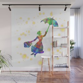 Mary Poppins - The Magical Nanny Wall Mural