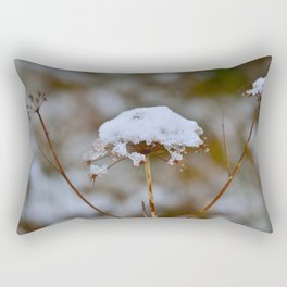 Snow Fall Rectangular Pillow