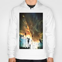 hollywood Hoodies featuring HollyWood Clouds!!! by Arturo Garcia