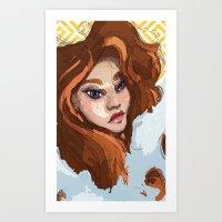 Redheads Art Print