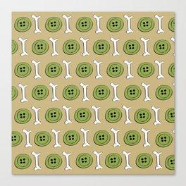 EVENS (pattern) Canvas Print