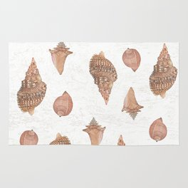 She sells Seashells by the seashore Rug
