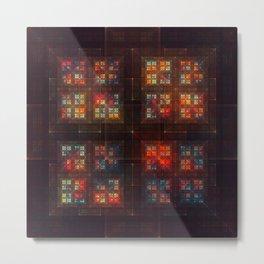 Stainedglass Metal Print