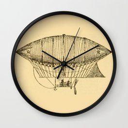 Airship Wall Clock