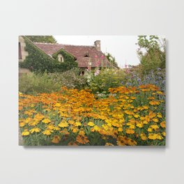 Apremont-sur-Allier Village Cottage Metal Print