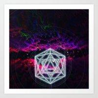 Geomagnetic Storms Art Print