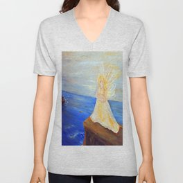 Invite your Angel | Angels are here Unisex V-Neck