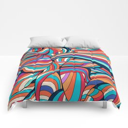 African Style No24, Sahara echoes Comforters
