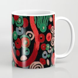 "Gustav Klimt ""Textile design - Model 7"" Coffee Mug"