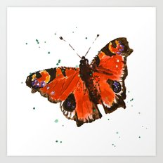 Butterfly, butterflies, insects, garden lover gift, gardens, nature,  Art Print
