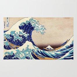 Great Wave Off Kanagawa Rug
