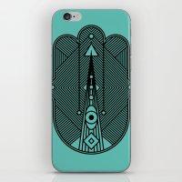 hamsa iPhone & iPod Skins featuring hamsa  by Leandro Pita