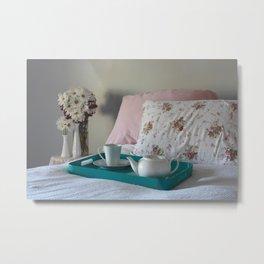 Tea in Bed Metal Print