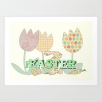 easter Art Prints featuring Easter by LoRo  Art & Pictures