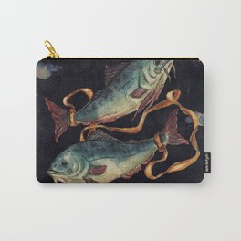Zodiac sign Pisces Carry-All Pouch