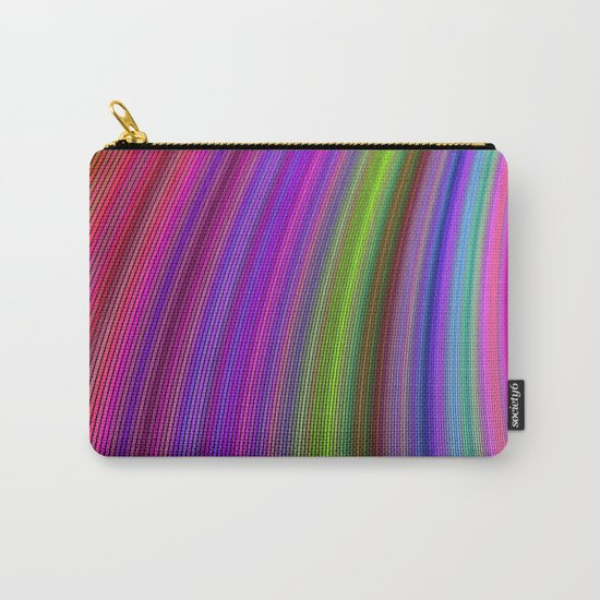Happy spring stripes Carry-All Pouch