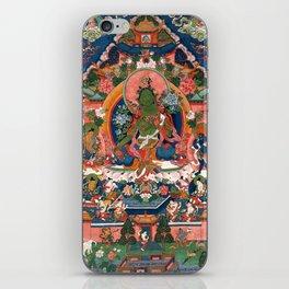 The Green Tara iPhone Skin
