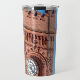 Cardiff Bay's Little Ben Travel Mug