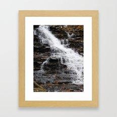 Fall Down Framed Art Print